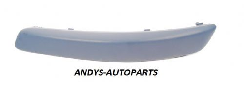 Volkswagen Golf 2004 - 2008  Front Bumper Moulding No Wash Jet Holes - Primed